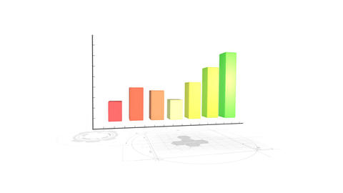 Bussiness Report Graph Background Live Action
