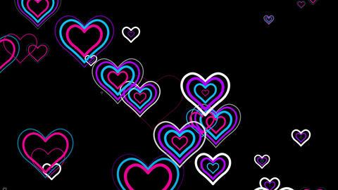 Wedding Hearts 4K 06 Vj Loop Animation