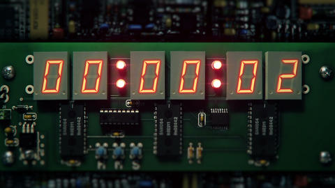 Bomb Detonator Countdown Stock Video Footage