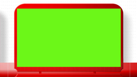 Sales promotional animation video with the green screen. Big sale, hot sale Animation