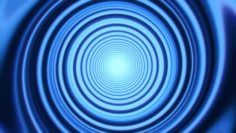 Blue Space Time Warp Tunnel Vortex Loopable Motion Background V2 Animation