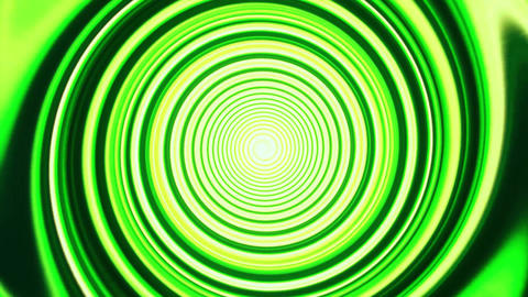 Green Space Time Warp Tunnel Vortex Loopable Motion Background Animation