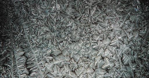 freezing pattern timelapse Footage