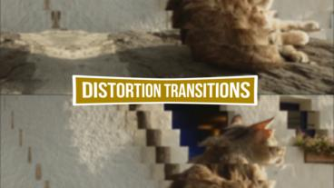 Distortion Transitions Pack Premiere Proテンプレート