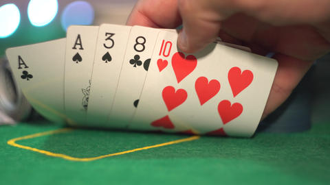 One Pair, Aces, Poker Cards Live Action