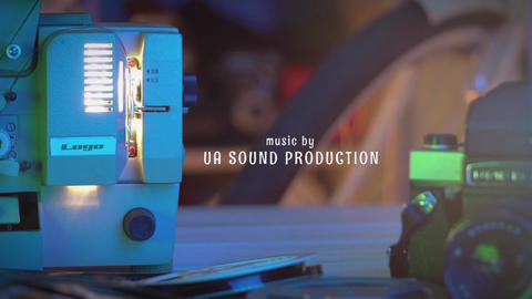 Film projector Intro After Effects Template