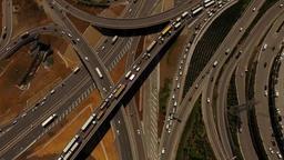 Aerial Drone City Traffic 영상물