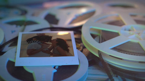 Family memories Film projector After Effects Template