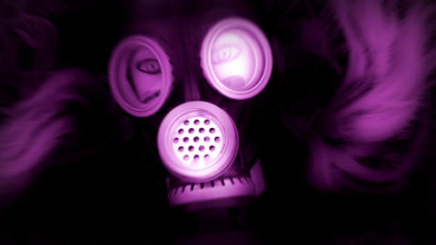 Pink Mannequin and Gas Mask Animation