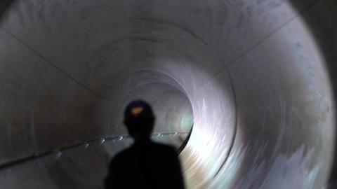Wada-Yayoi rainwater storage trunk line 영상물