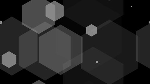 hexagon overlay Animation
