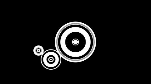 retro circle Animation