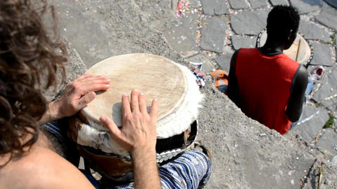 djembe Stock Video Footage