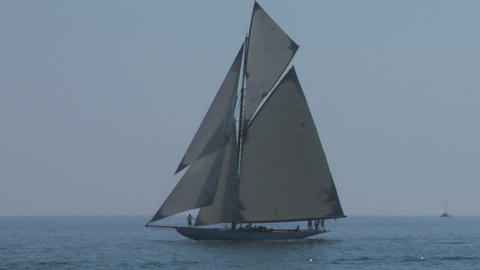 old sail 02 Stock Video Footage