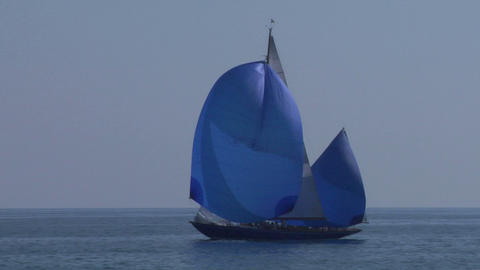 old sail 06 Stock Video Footage