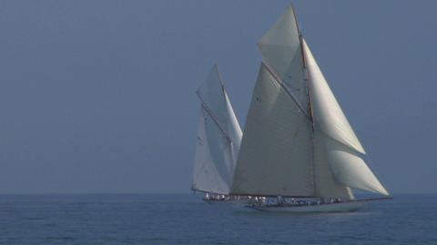 old sail 11 Stock Video Footage