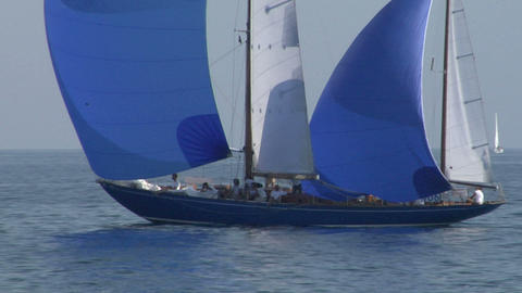 old sail close up 07 e Stock Video Footage