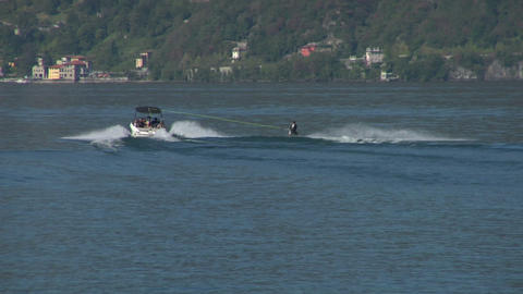 wakeboard 12 e Stock Video Footage