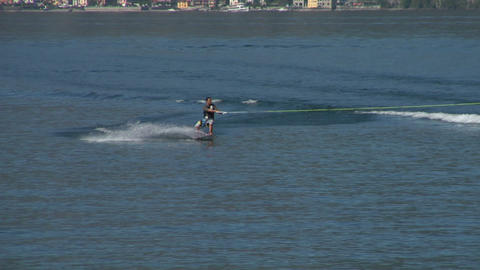 wakeboard 14 e Stock Video Footage