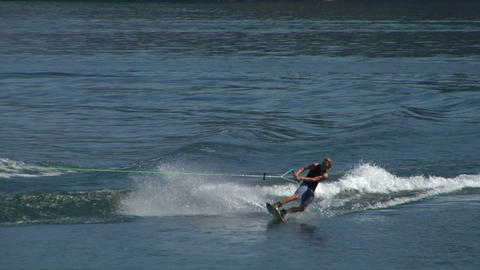 wakeboard 22 e Stock Video Footage