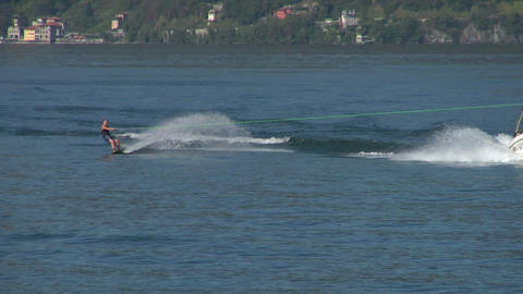 wakeboard 24 e Stock Video Footage