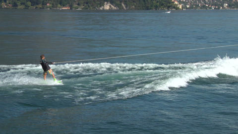 wakeboard 41 e Stock Video Footage