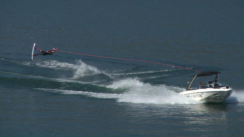 wakeboard 51 e Stock Video Footage