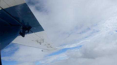 airplane flight Stock Video Footage