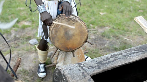 African musicians Footage
