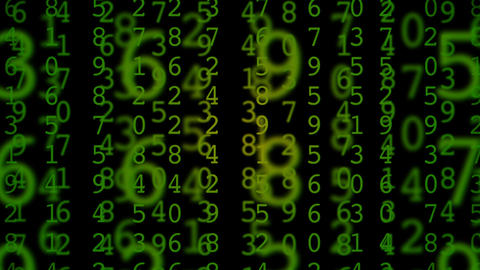 matrix green Animation