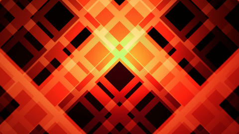 orange grid Animation