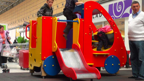 Children's playground Stock Video Footage