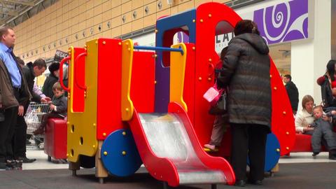 Children's playground Footage