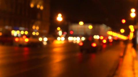 city prospectus at night Stock Video Footage