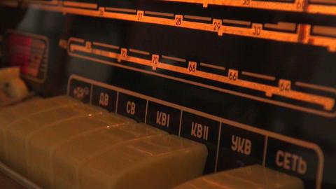 Old radio Stock Video Footage