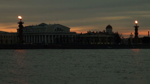 Rostral columns Stock Video Footage