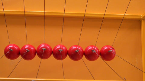 Balls on strings Footage