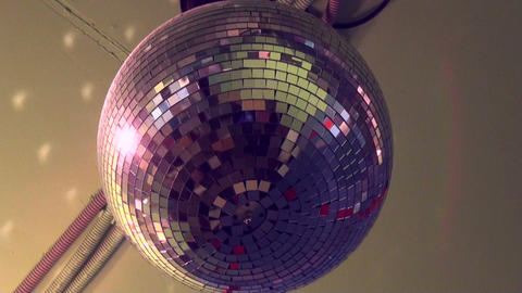 Mirror ball Stock Video Footage