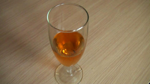 Wine pour in a glass Stock Video Footage