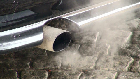 Exhaust pipe machine Footage