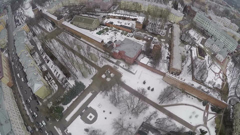 Flying over the Square In Memory of Heroes, Smolensk Live Action
