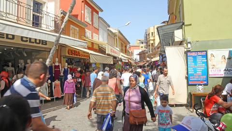 Izmir Turkey Kemeralti Footage