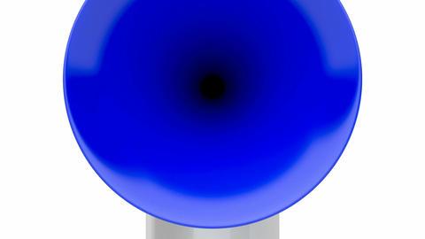 Air horn Animation