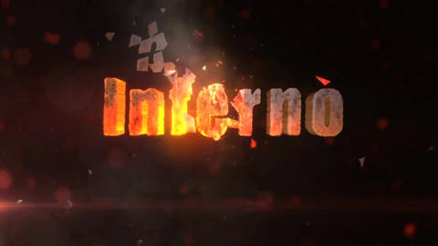 Inferno - Fiery Logo Reveal After Effects Template