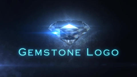 Gemstone - Diamond/Gem Logo Opener After Effects Template