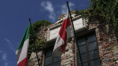 Native home of Christopher Columbus in Genoa, Italy Live Action