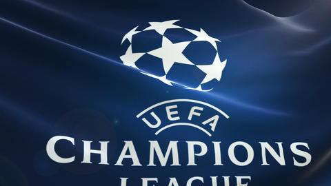 Flag UEFA Champions League Logo Live Action