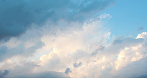 abstract background from explosion of rainy pink clouds in skies Footage
