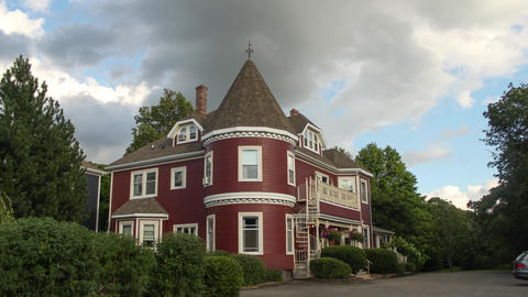 Victorian Style Wood Building in Canada- Antigonish, Nova Scotia ビデオ