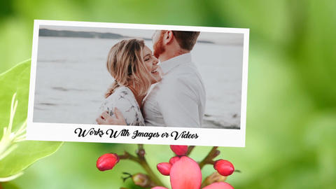 Wedding Album Love Memories-Realtime Wedding After Effects Template